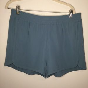 NWT J. Crew Crepe Pull-On Short In Blue- Size 12